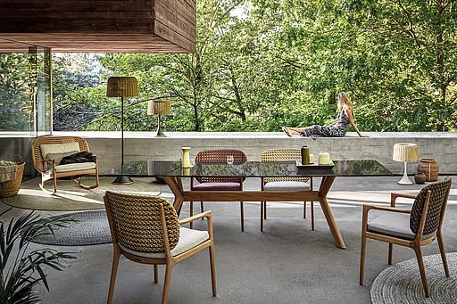 Terrassen Gartenmobel Von Gloster Bei Mebart Sudtirol Kaufen
